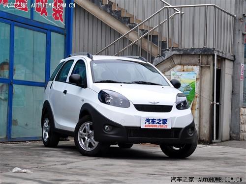 瑞麒 奇瑞汽车 瑞麒x1 2010款 1.3自动豪华型高清图片