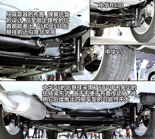 配置四款车型 华晨中华V5购车手册高清图片