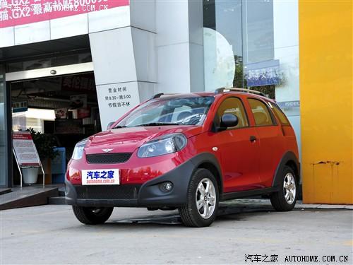 瑞麒 奇瑞汽车 瑞麒x1 1.3手动豪华型高清图片