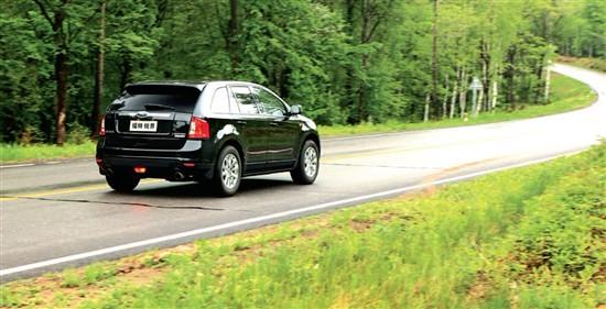 SUV的形象大使 试驾全新福特锐界