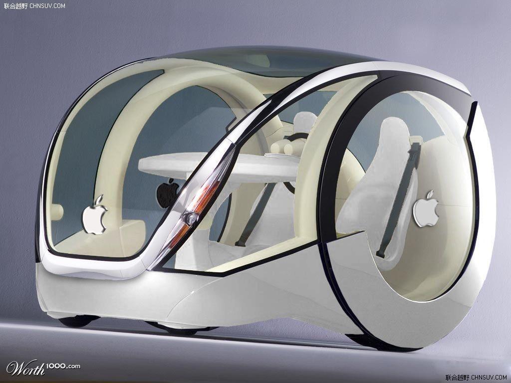 图:苹果汽车icar创意设计图曝光 融入苹果鼠标元素 (4/6)