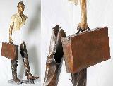 镂空雕塑 隐藏的世界