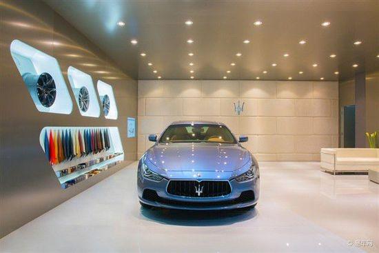 玛莎拉蒂特别版概念车 上海车展国内首发