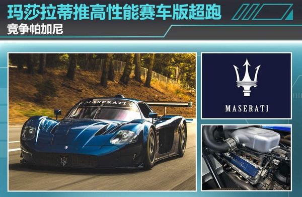 玛莎拉蒂推高性能赛车版超跑 竞争帕加尼