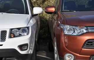 运动or舒适 Jeep指南者对比三菱欧蓝德