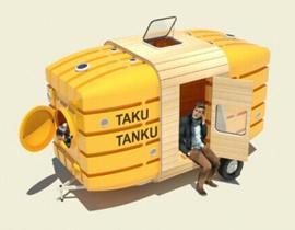 Taku-Tanku小型房车来场说走就走的旅行