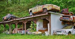 世界最大汽车坟场Old Car City