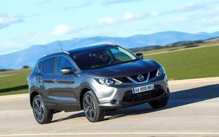 2014英国最佳跨界SUV排行榜 逍客夺冠