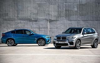 全新X5 M/X6 M官图发布 洛杉矶车展首发
