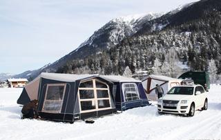丹麦Camp-let拖挂式C型可折叠房车