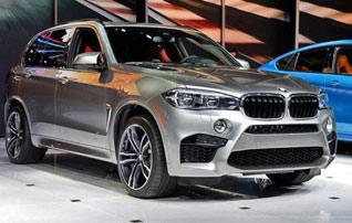 纽北最快SUV 实拍新一代宝马X5 M/X6 M