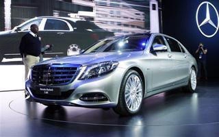 迈巴赫S级1月31日上市 售价或超300万元