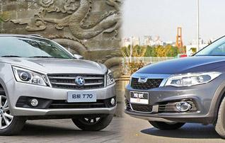 13万元高品质SUV 启辰T70对比观致3 SUV