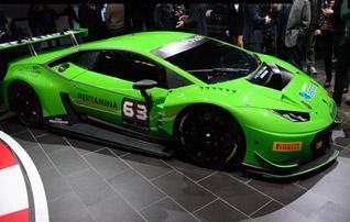 又帅又快 实拍兰博基尼Huracan GT3赛车