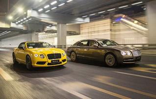 皇家运动员 试宾利飞驰 W12/欧陆GT V8 S