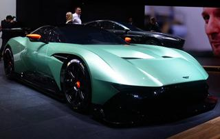 阿斯顿马丁Vulcan 2015年日内瓦车展实拍
