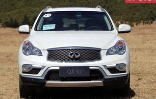 德日系中型SUV 奔驰GLK对比英菲尼迪QX50