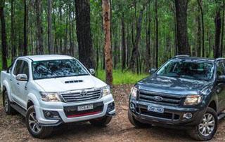 Ranger/海拉克斯特别版车型海外对比测试