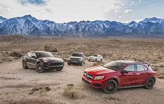性能至上 四款小型性能SUV对比