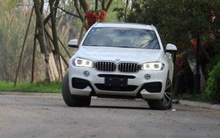 试驾BMW X6 xDrive50i M运动型 猛兽出没