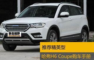 哈弗H6 COUPE购车手册 推荐2.0T精英型