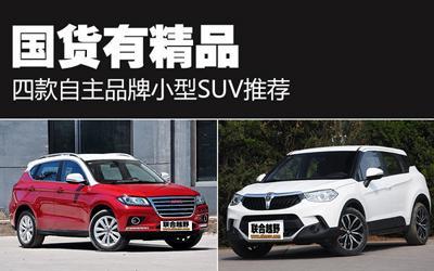 国货有精品 四款自主品牌小型SUV推荐