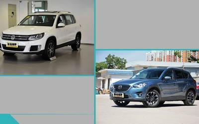 合资紧凑运动型SUV比拼 途观/CX5谁更强