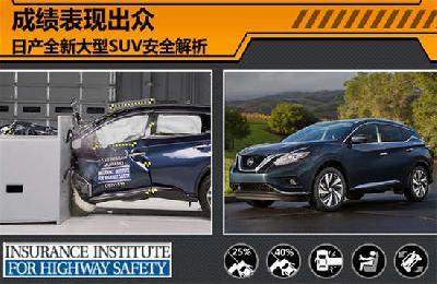 日产全新大型SUV安全解析 成绩表现出众