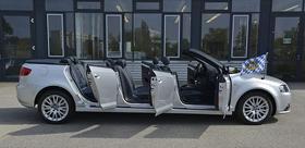 奥迪德国展示六门A3 Cabrio敞篷车