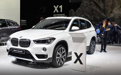车展体验全新宝马X1 采用UKL前驱平台