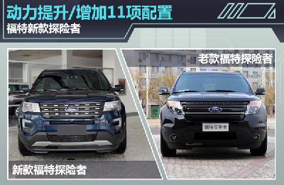福特新款探险者 动力提升/增加11项配置