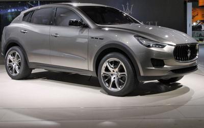玛莎拉蒂SUV三月入华-售价100万起 PK卡宴