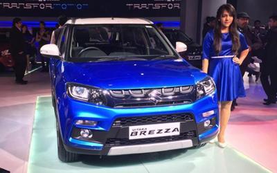 铃木VITARA Brezza首发 针对印度市场