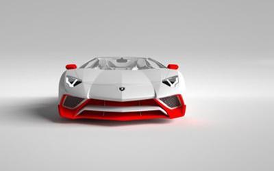 兰博基尼Aventador SV定制碳纤维套件