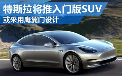 特斯拉将推入门版SUV 或采用鹰翼门设计