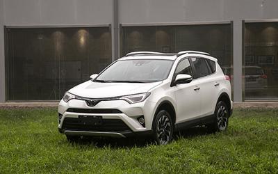 体验改款丰田RAV4 配置提升新增中文名