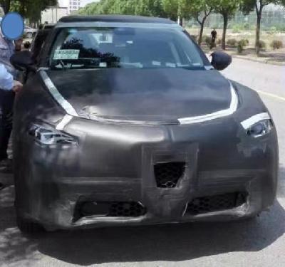 阿尔法罗密欧首款SUV国内谍照 同步引入