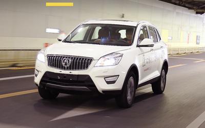 八万买成熟品质SUV不是梦 测北汽威旺S50