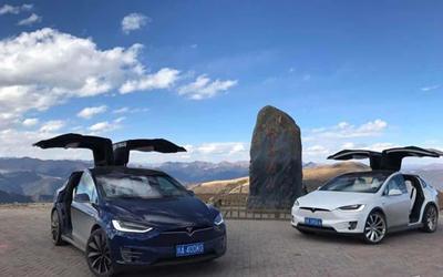 高原體驗純電SUV——Model X 未來已或許來
