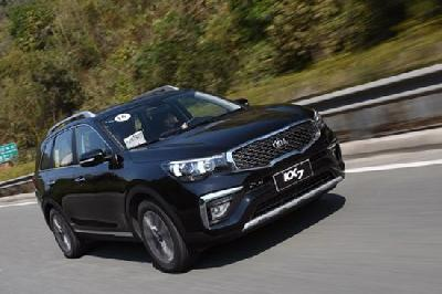 舒适实用7座SUV 测试东风悦达起亚KX7