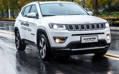 场地试驾全新Jeep指南者 专业SUV领导者