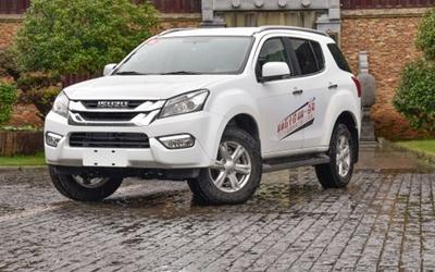 售25.18万元 五十铃mu-X新增车型上市