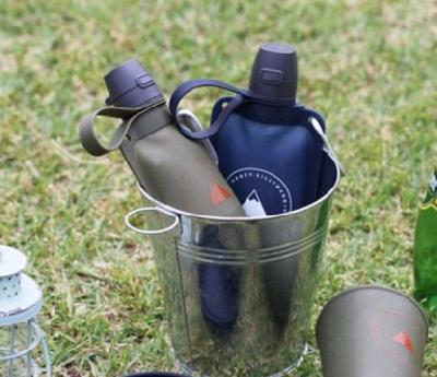 SILLYMANN携便捲式水瓶 户外登山必备装备