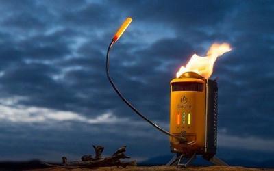 BioLite露营炉 可将热量转化电能