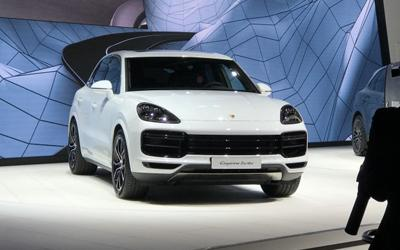 法兰克福车展:新Cayenne Turbo发布