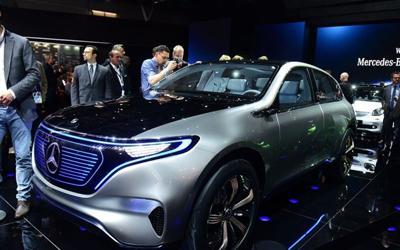 续航499km 奔驰首款纯电动SUV接受预定