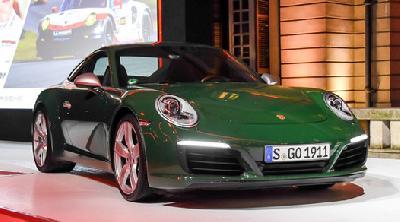 保时捷911第一百万台纪念版首秀