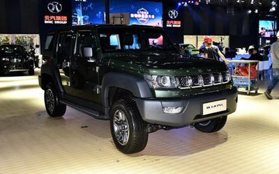 2017广州车展:新款北京BJ40L正式发布