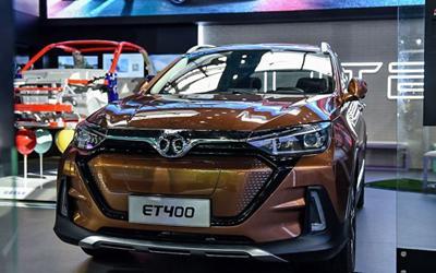 来电汹汹 车展实拍北汽新能源ET400