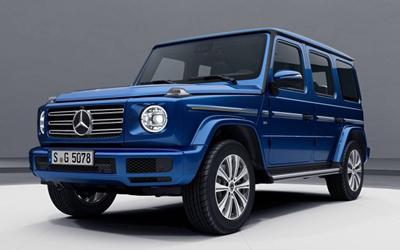 蓝是主色调 全新G级新套件版车型官图